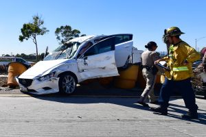 Tragedia en San Bernardino: conductor ebrio se estrella y mata a dos niños y a un hombre
