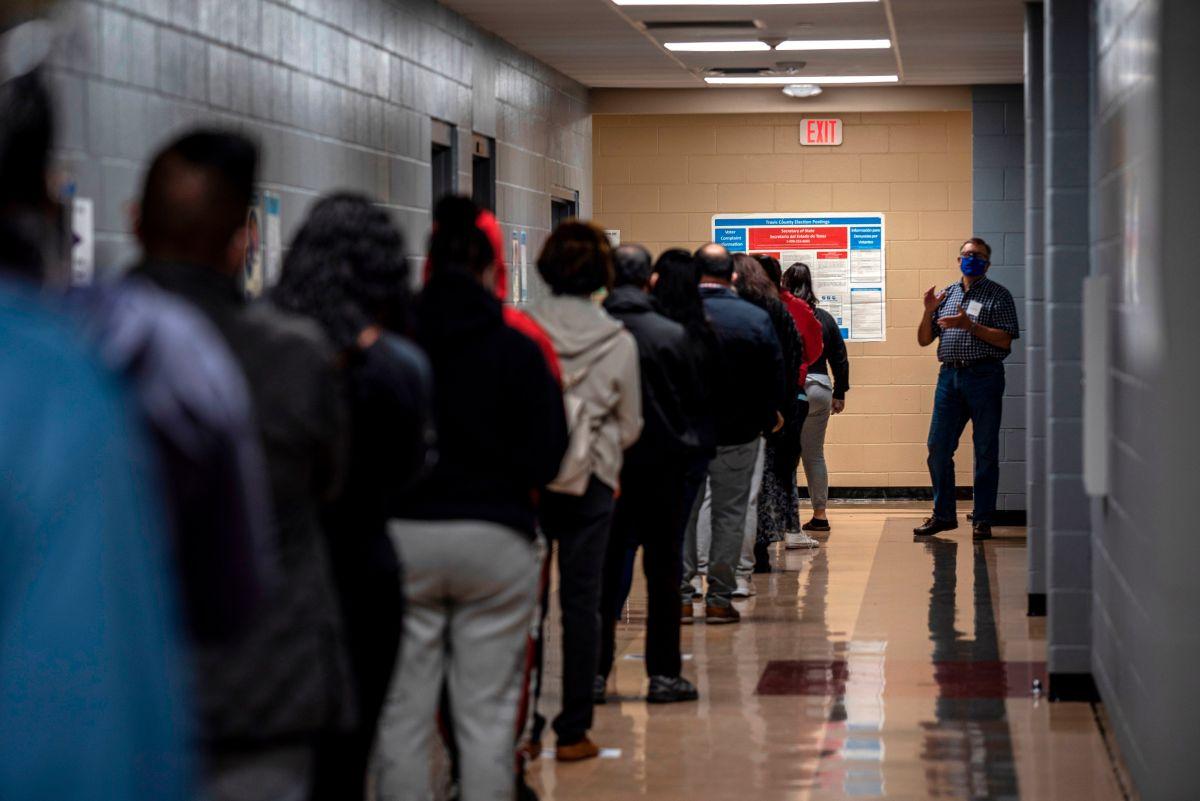 En Texas es una carrera cuello a cuello tras contabilizarse 75% de los votos
