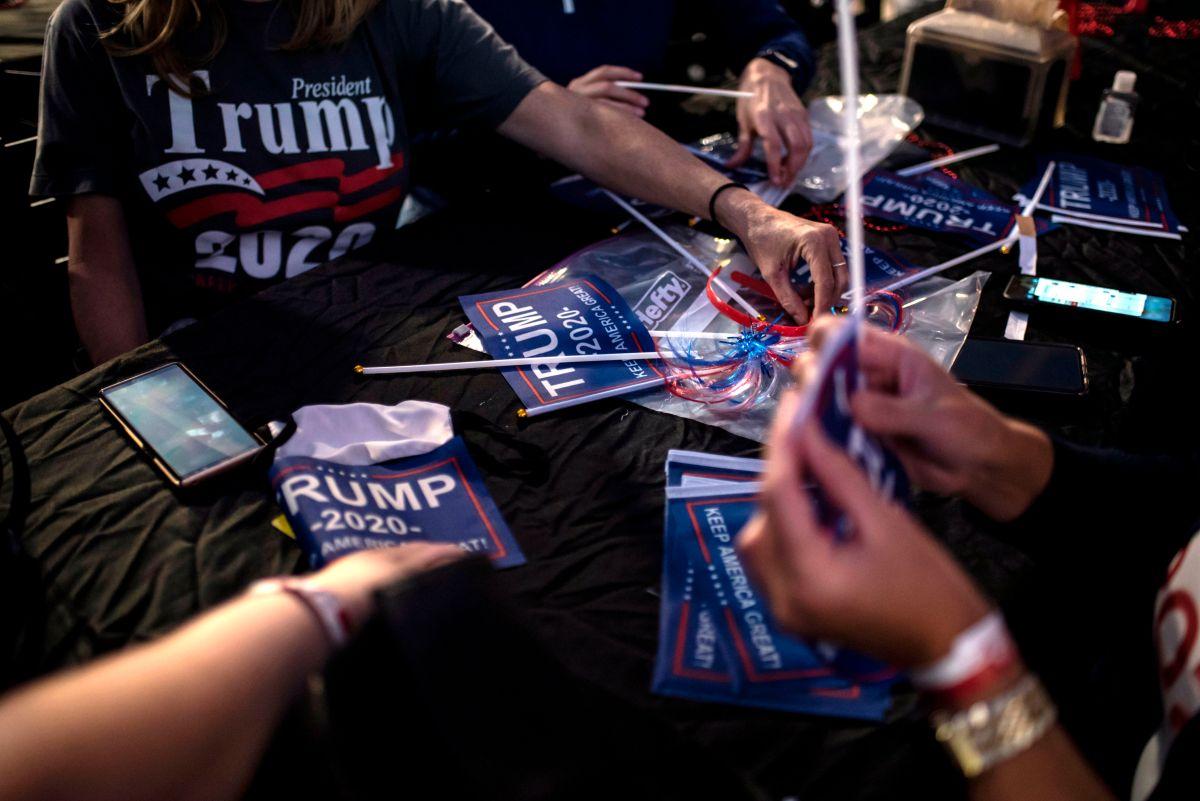 Trump ganó en Texas y en Ohio, estados clave para su reelección