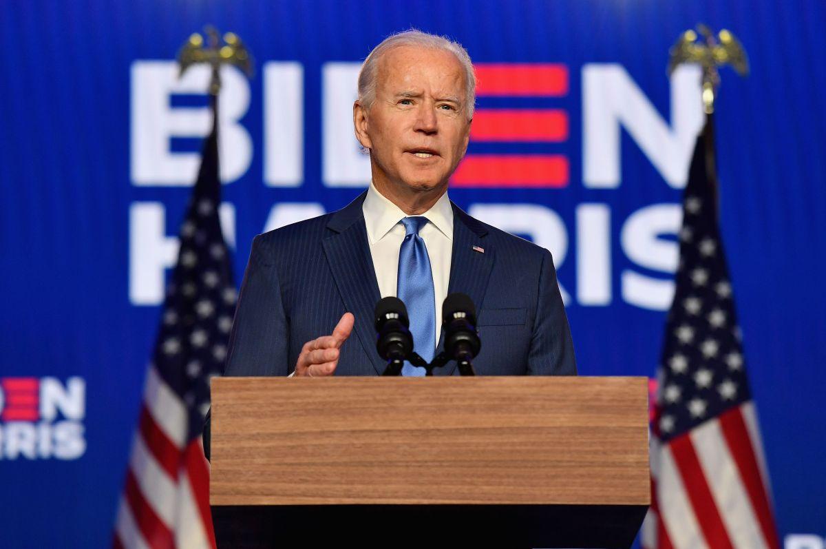 Biden confía en el apoyo del pueblo de Estados Unidos.