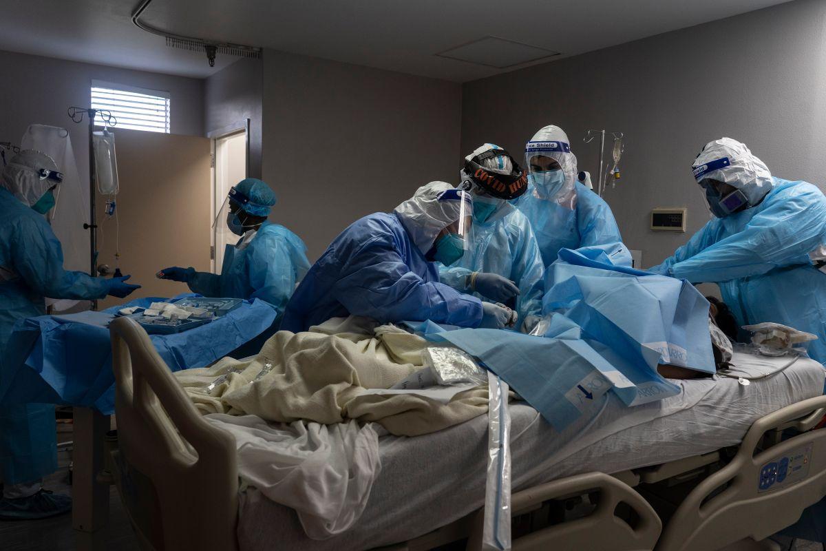 COVID-19: Estados Unidos supera los 12 millones de casos y las 255,000 muertes en una semana