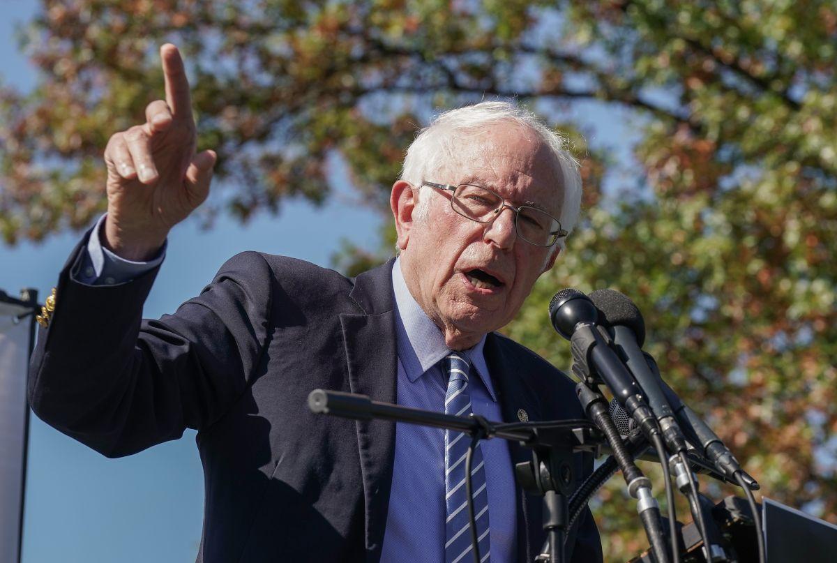 Bernie Sanders estaría buscando apoyos para ser el secretario de Trabajo de Biden
