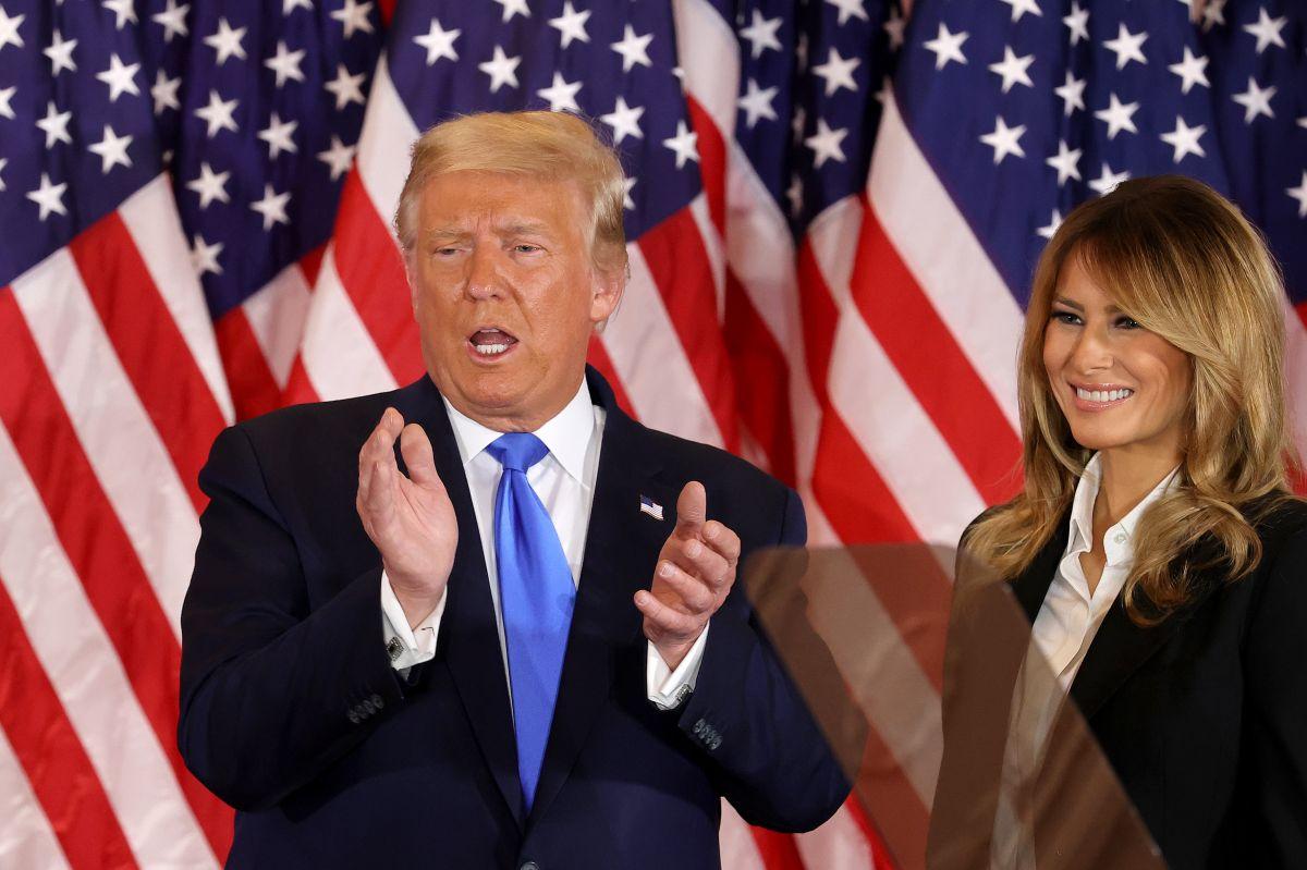 Trump se declara ganador pese a que faltan millones de votos por contar
