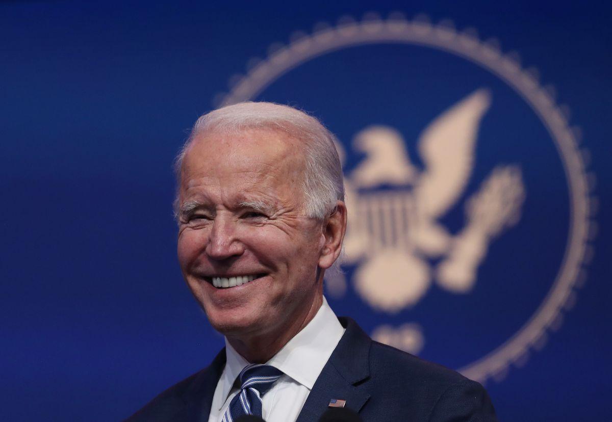 El presidente electo Joe Biden.
