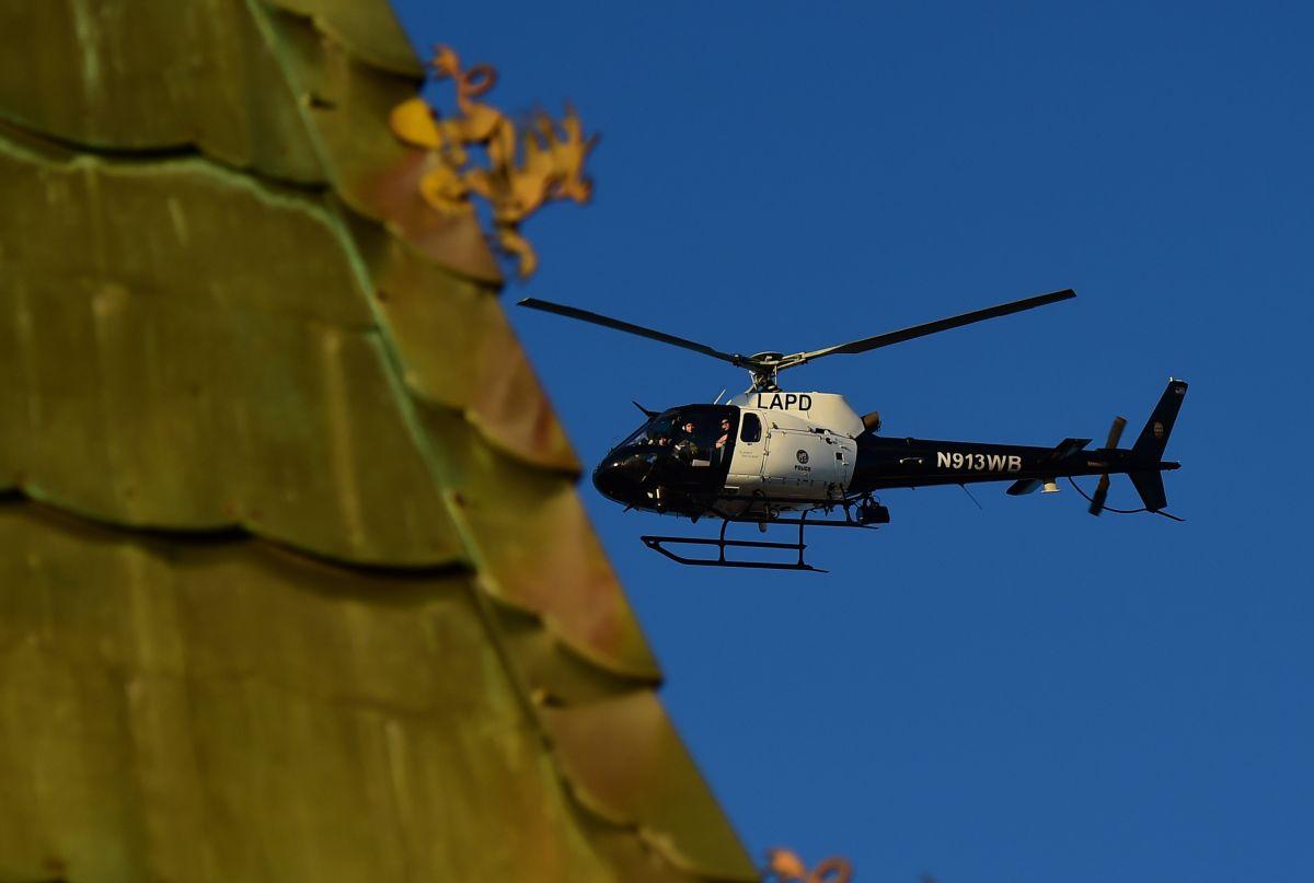 Hispano es arrestado por impactar su dron contra helicóptero de la Policía en Hollywood