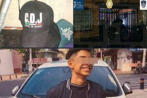 Fotos: Hallan cachuchas del Cártel de Jalisco en lugar donde mataron a menor de 14 años