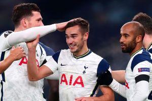 Harry Winks, jugador inglés del Tottenham marcó un tremendo y sorpresivo golazo