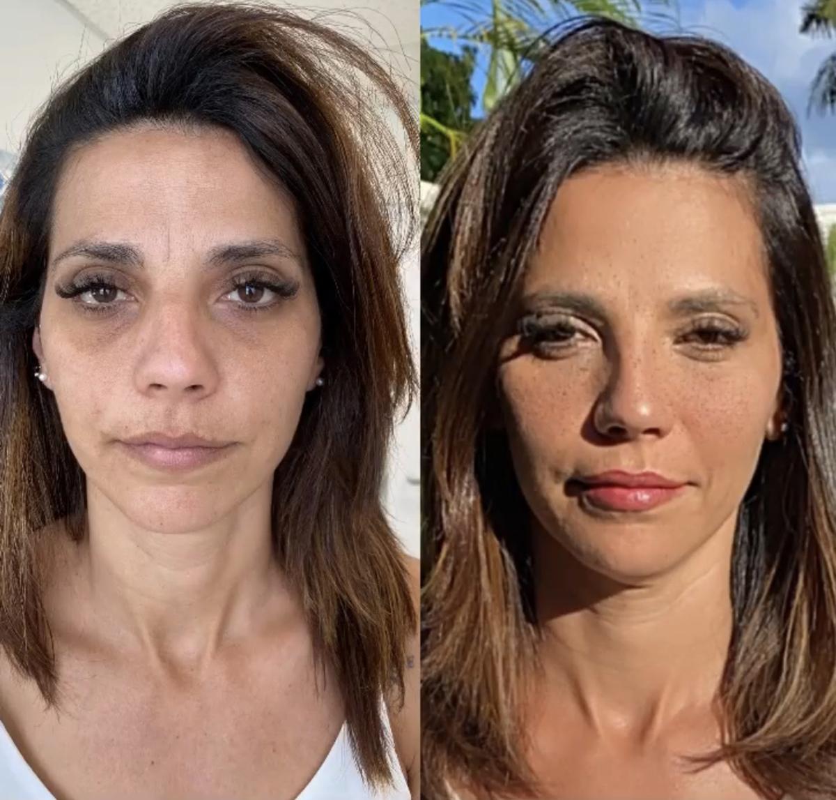 El antes y después de la hermana de Quique Usales