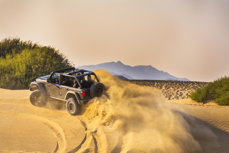 El Jeep Wrangler Rubicon 392 mejorado. / Foto: Jeep