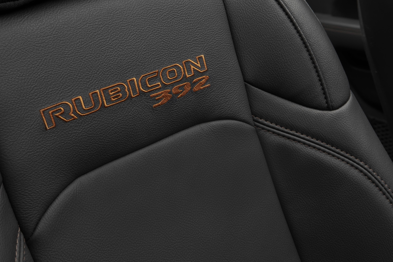 Asientos de cuero del Rubicon 392. / Foto: Jeep