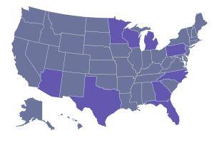 Son 9 los estados que decidirán la elección presidencial