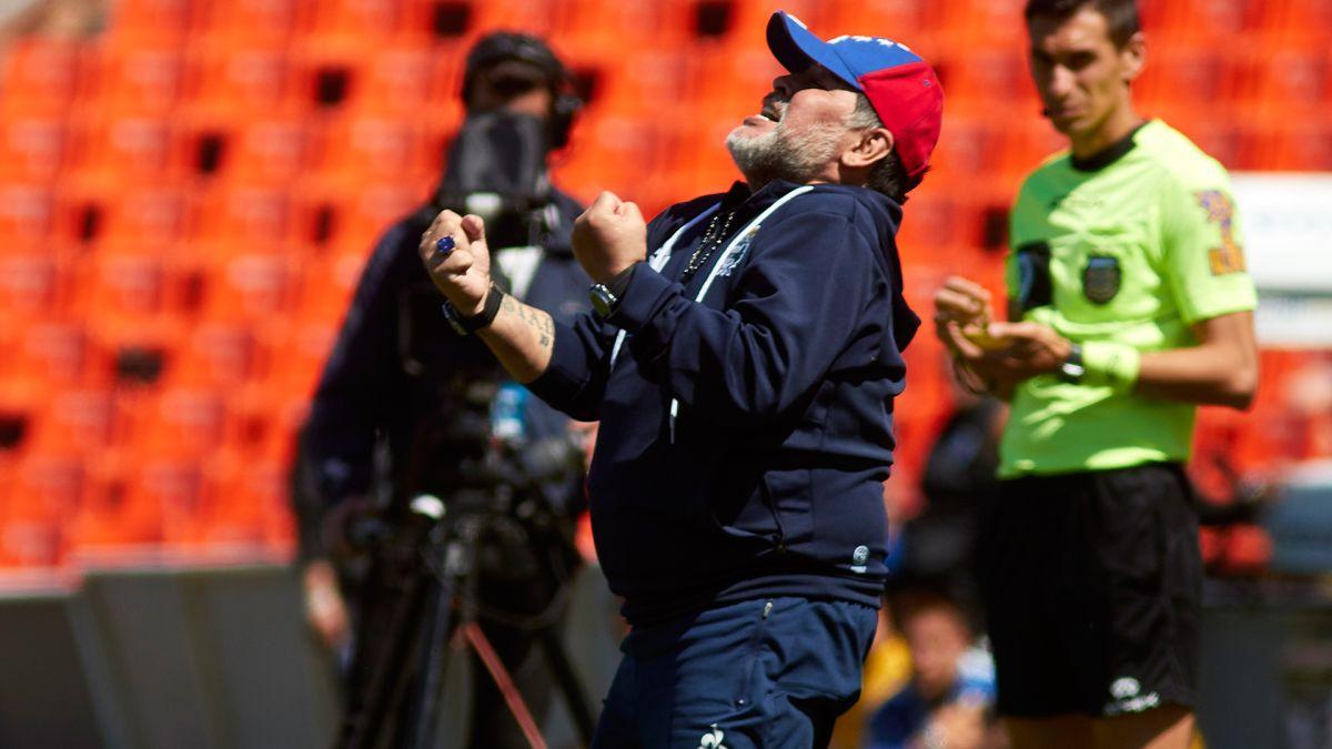 Operación en la cabeza de Diego Maradona fue un éxito