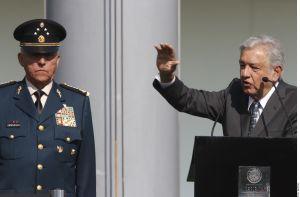 """""""El presidente de México no es un florero y no hay ningún acuerdo en lo oscurito"""", señala AMLO sobre caso Salvador Cienfuegos"""