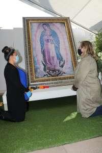 'Le pedí a la Virgen de Guadalupe que nos cuide del COVID'