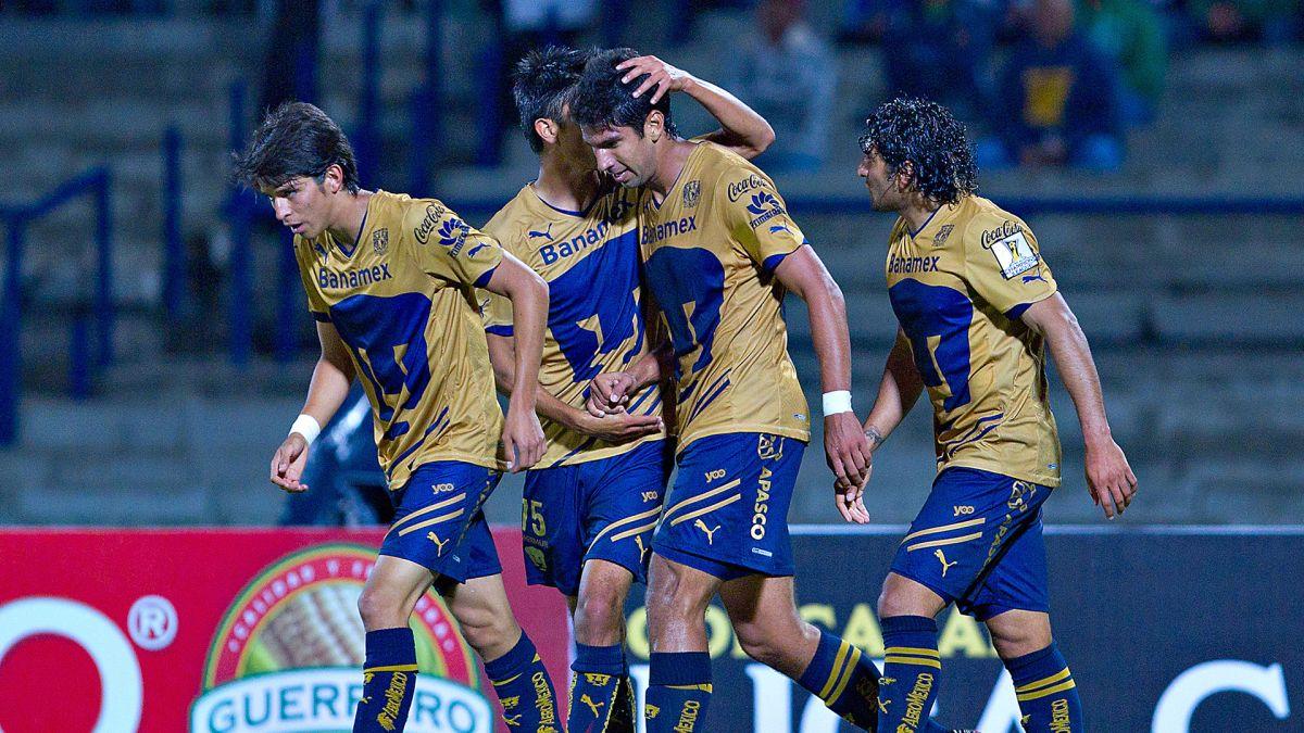 La última vez que los cuatro grandes estuvieron en la Liguilla, Pumas fue campeón