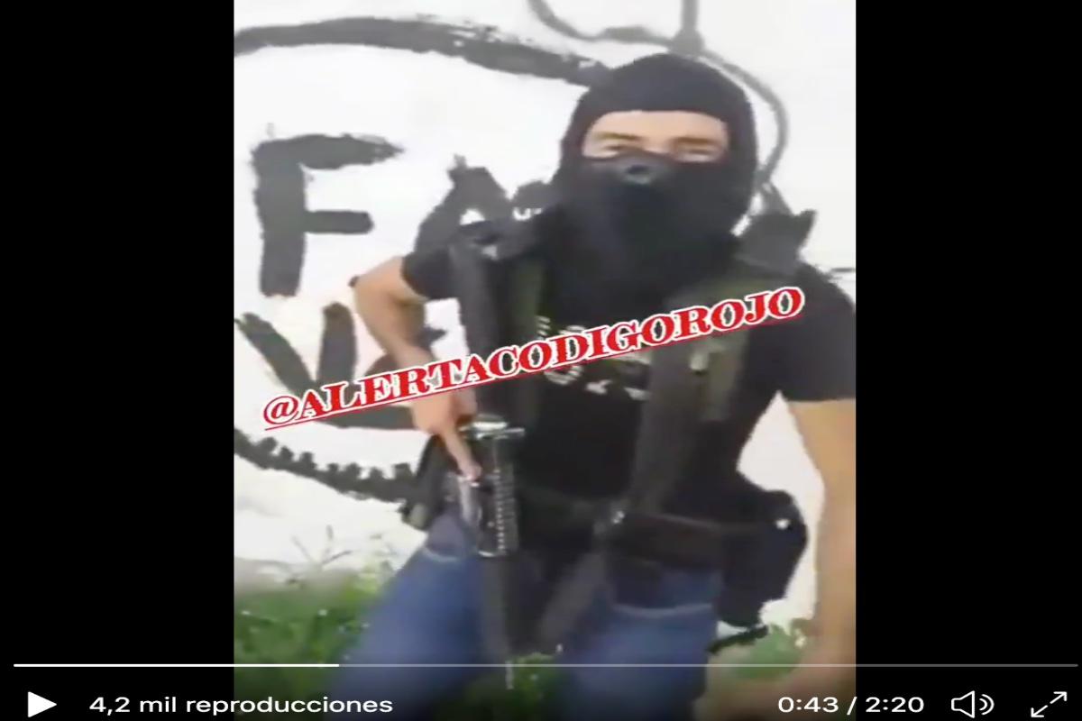 VIDEO: El Koruco, líder de Cártel de los Viagras reta al Mencho a dar la cara