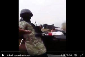 """FOTO: """"Va a empezar a pagar gente inocente"""", narcomanta amenaza a autoridades mexicanas"""