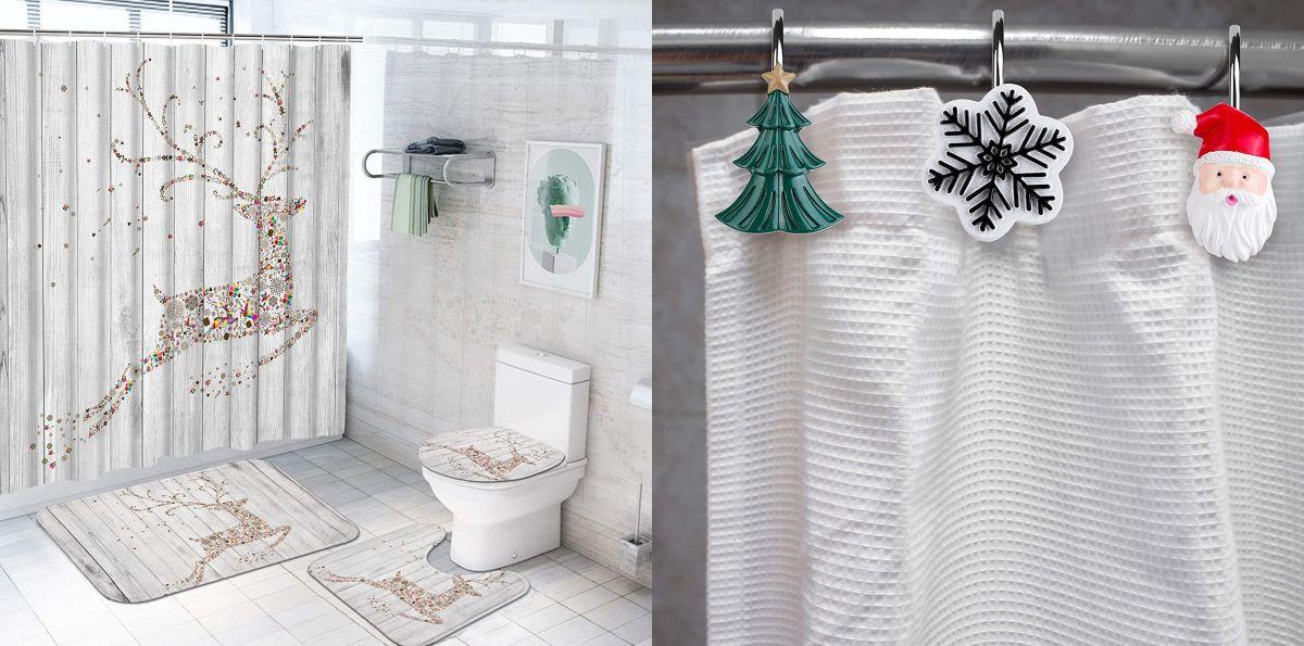 Los mejores 5 sets de Navidad para decorar tu baño