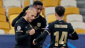 ¿Es mejor el Plan B? Los suplentes del Barcelona respondieron y aplastaron al Dynamo Kiev