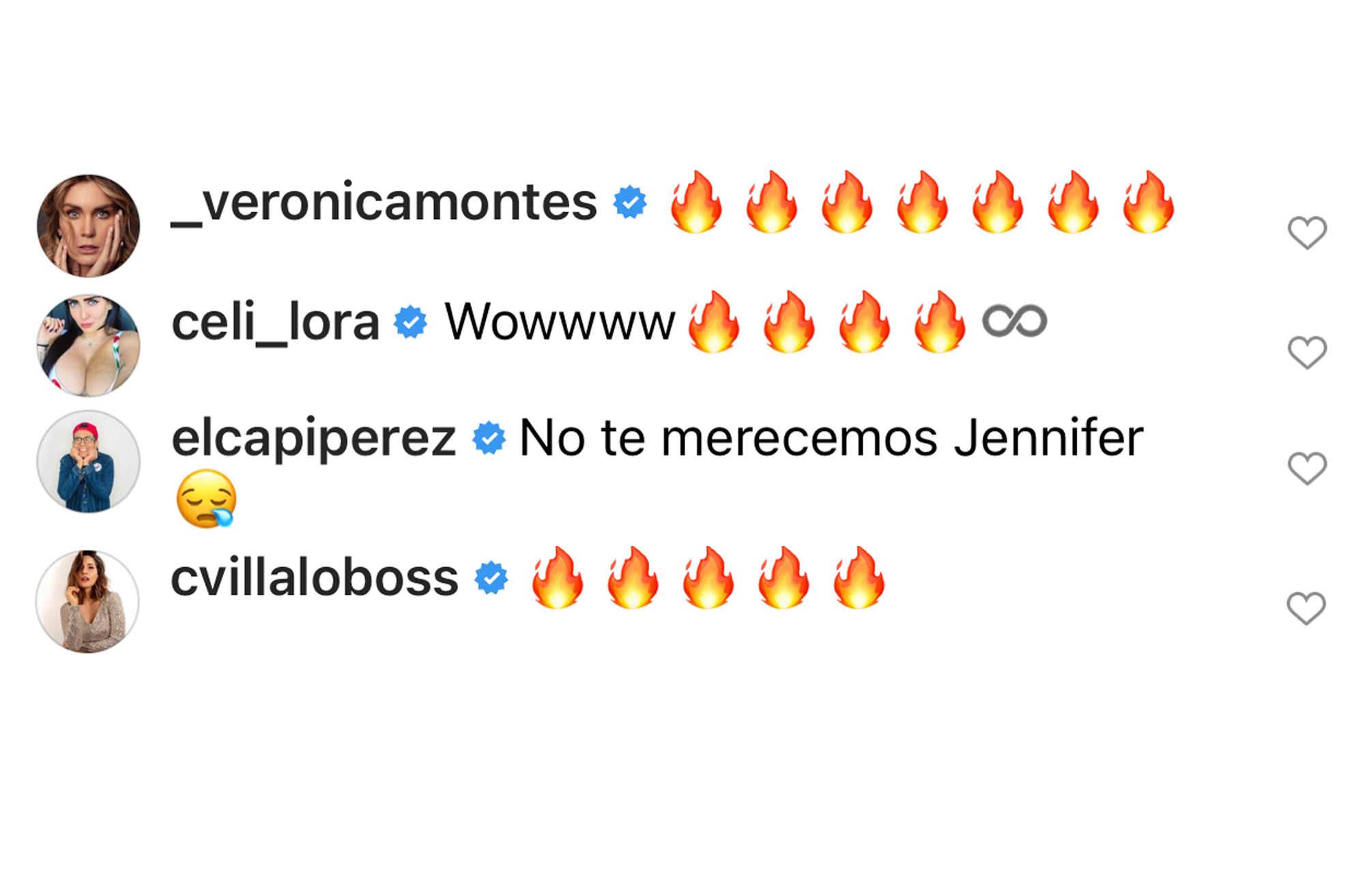 Famosos reaccionan al desnudo de Jennifer López