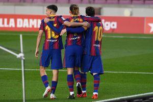 VIDEO: ¡Milagro! Antoine Griezmann anotó con el Barça y lo celebró hasta Shakira