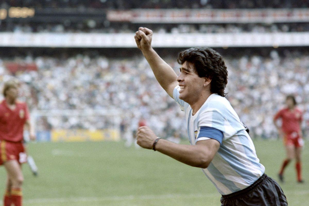 VIDEO: Silueta de Maradona se visualiza en cielo de Argentina y se hace viral
