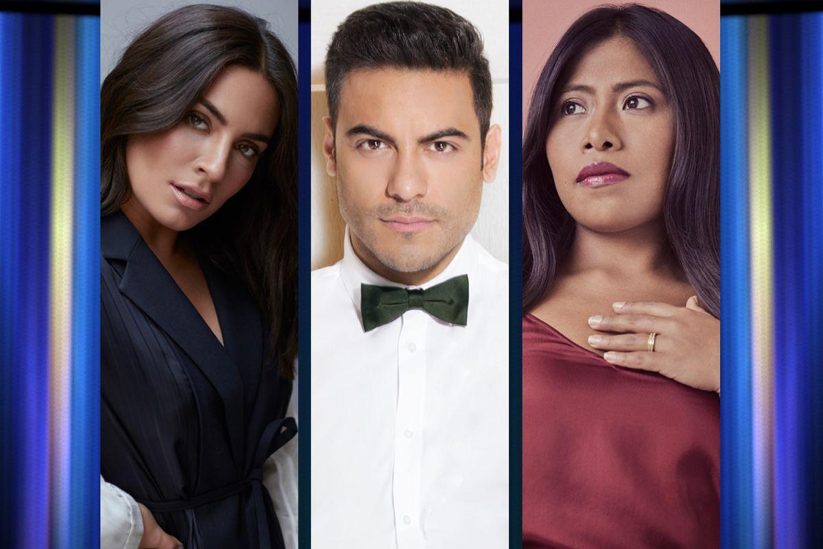 Ana Brenda Contreras, Carlos Rivera y Yalitza Aparicio presentan los 'Latin Grammy 2020'.
