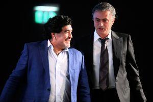 """""""Me llamaba en mis peores derrotas"""": José Mourinho habla de su relación con Diego Maradona"""