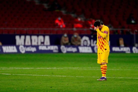 Una vez más, Leo Messi no fue factor para su equipo.