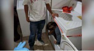 Descubren 13 indocumentados escondidos dentro de secadoras y muebles en Texas