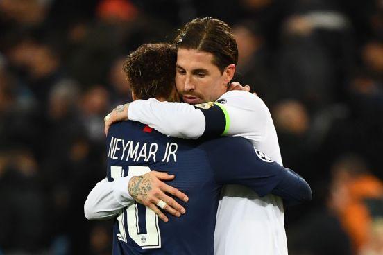 Ramos y Neymar podrían reunirse en París.
