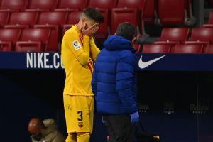 Las peores para el Barcelona: Gerard Piqué podría estar fuera de acción hasta ocho meses