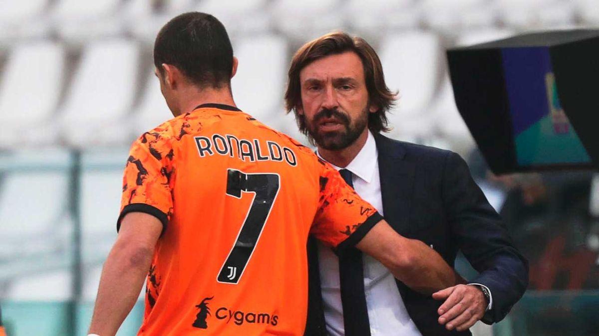 """""""Debemos ser menos egoístas"""": Andrea Pirlo criticó a Cristiano Ronaldo de leyenda a leyenda"""
