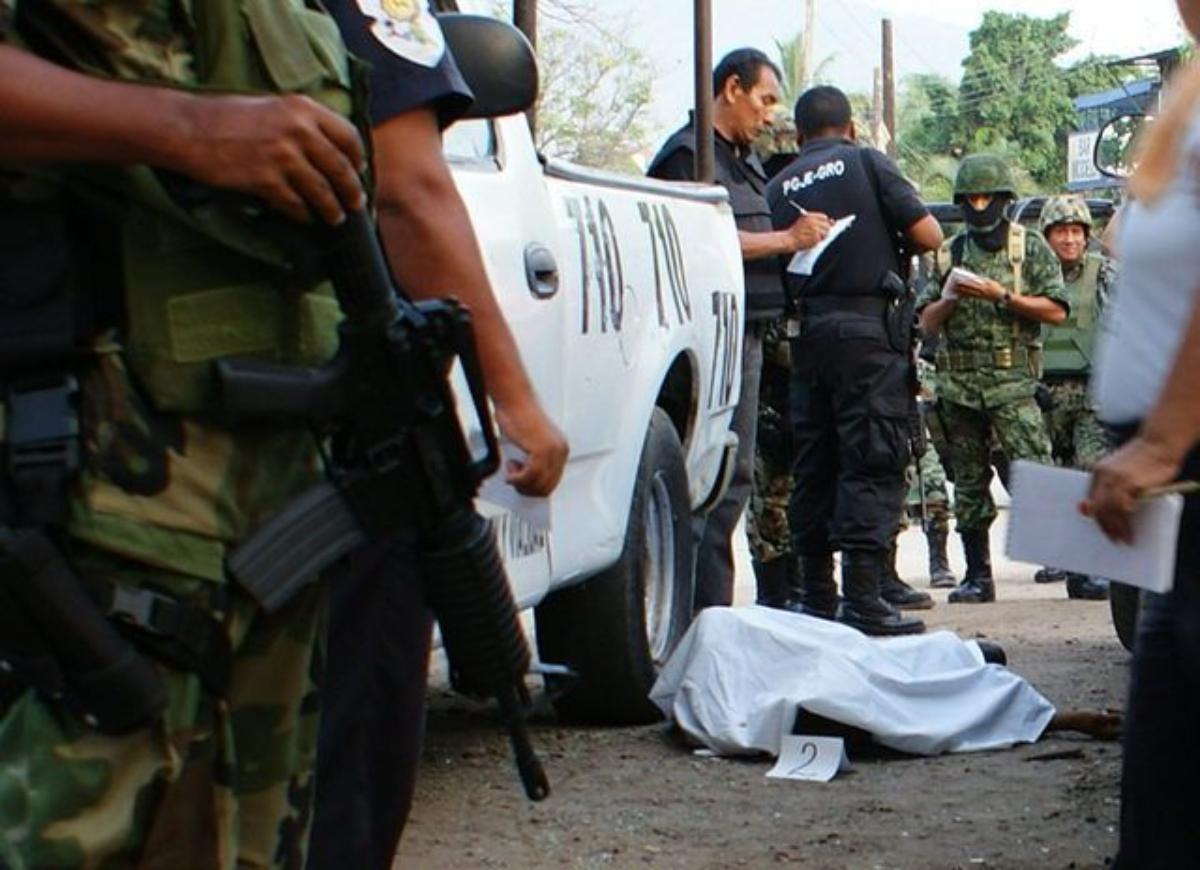 Violencia en México.
