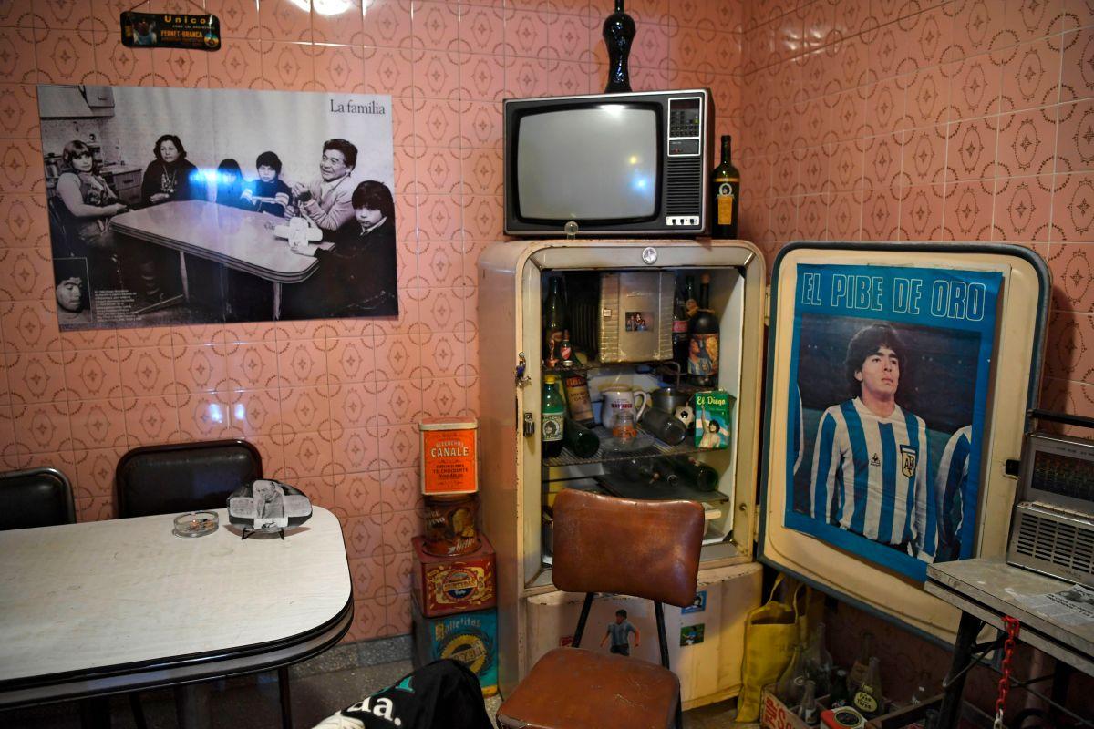 Así luce 'La Casa de D10S', la primera casa como futbolista de Diego Maradona