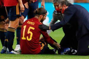 Salió por lesión ante Alemania: se rompió Sergio Ramos y las alarmas saltan en el Real Madrid
