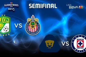Chivas, Cruz Azul, Pumas y León: los verdaderos cuatro grandes a las semifinales
