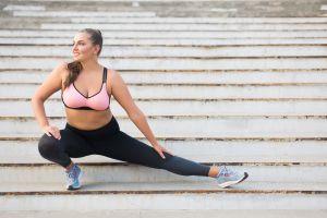 Ropa de ejercicio para mujer de talla grande