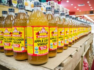 ¿Qué productos usar de sidra de vinagre demanzana para bajar de peso?