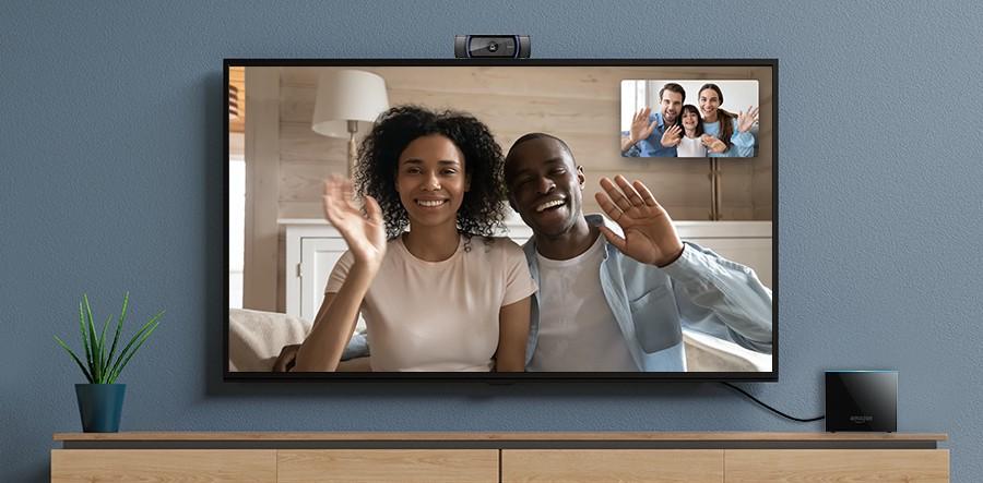 Ahora puedes hacer video llamadas desde tu Fire TV Cube