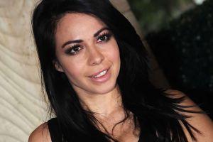 Jimena Sánchez lució su cuerpo en lencería negra y pantimedias estampadas por Instagram