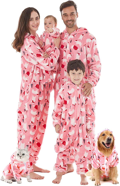 Pijamas De Niña Abrigadas Para Descansar Cómodamente