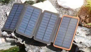Los 5 mejores powerbanks solares para nunca quedarte sin batería