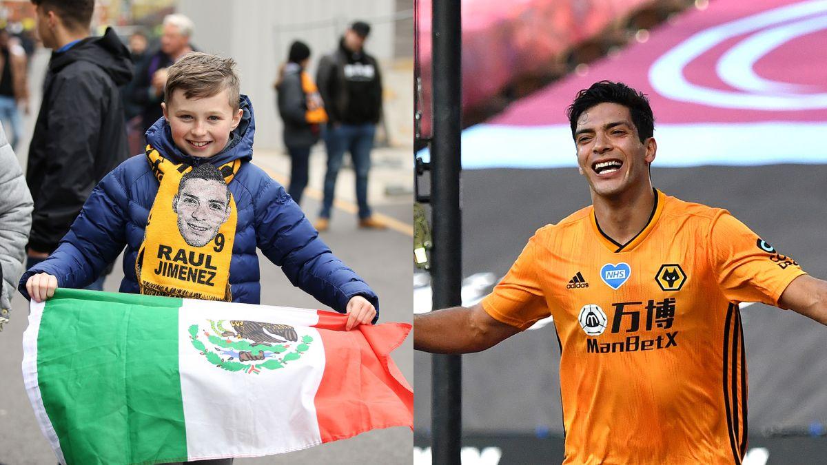 Amor a Jiménez: fanáticos de los Wolves juntan dinero para hacerle una manta
