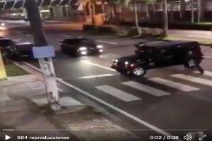 Captan en video supuesto ataque del CJNG a exgobernador cuando era trasladado a hospital