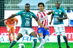 León le saca el empate a Chivas en Guadalajara