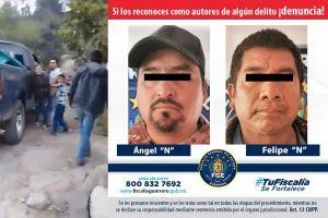 VIDEO: Detienen a hombres que secuestraron a la mamá de una niña que grabó el momento con su celular