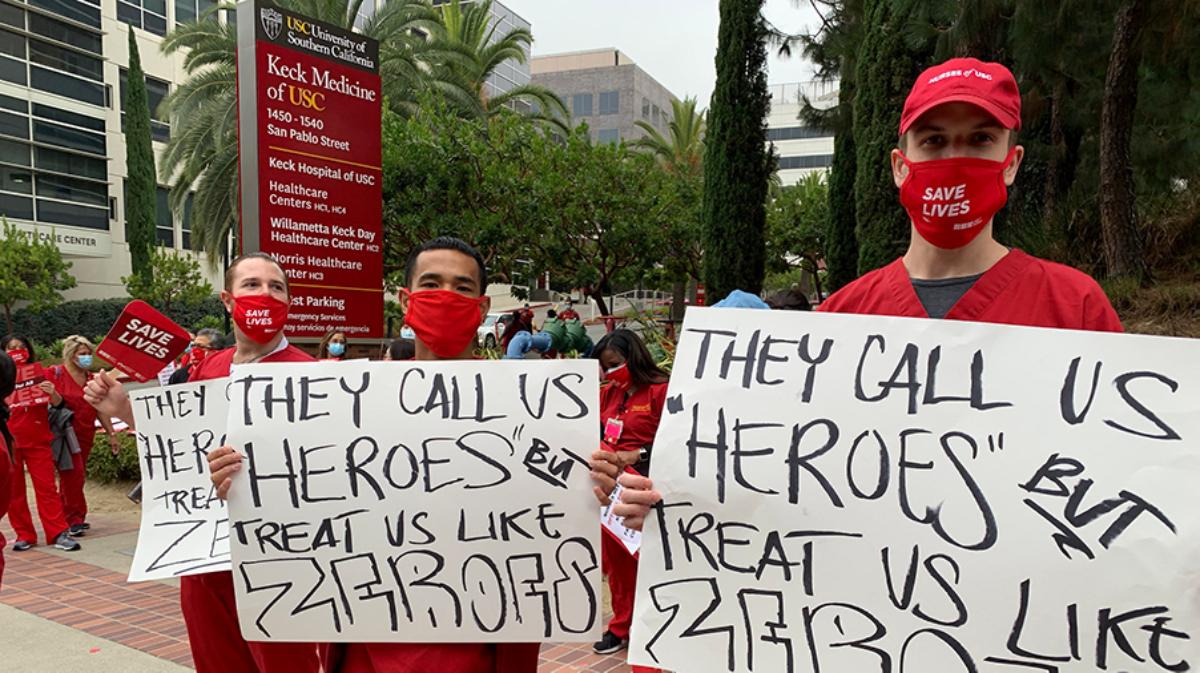 Protestan por la falta de recursos para desarrollar su empleo y exceso de trabajo