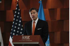 Embajador de Estados Unidos en México, Christopher Landau, advierte de riesgos de viajar durante la pandemia