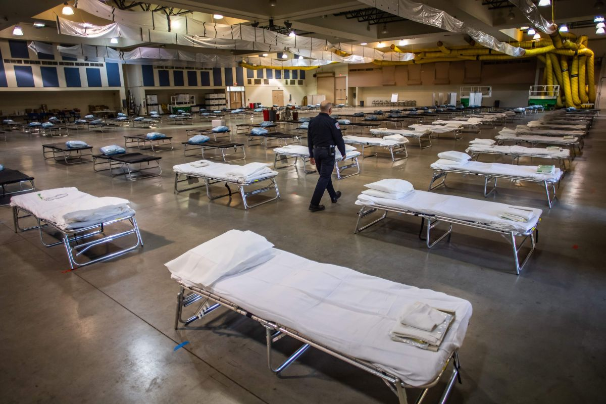 California following empeorando: the weekly week alone with 2.5% of beds in intensive care and 37,892 new cases